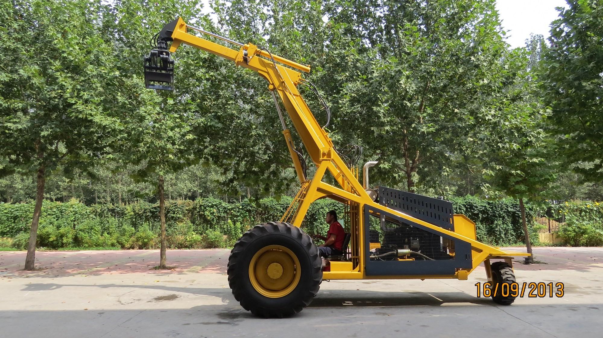 Logger de cana-de-açúcar BELL de três rodas