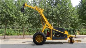 BELL Three Wheel Sugarcane Loader logger