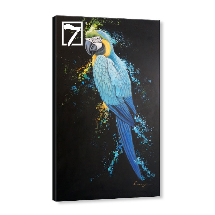 Bird Macaw Wall Art Acrylic Painting Manufacturers, Bird Macaw Wall Art Acrylic Painting Factory, Supply Bird Macaw Wall Art Acrylic Painting
