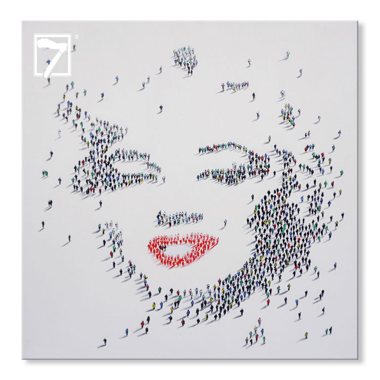 Creative Wall Decor Ideas Marilyn Painting
