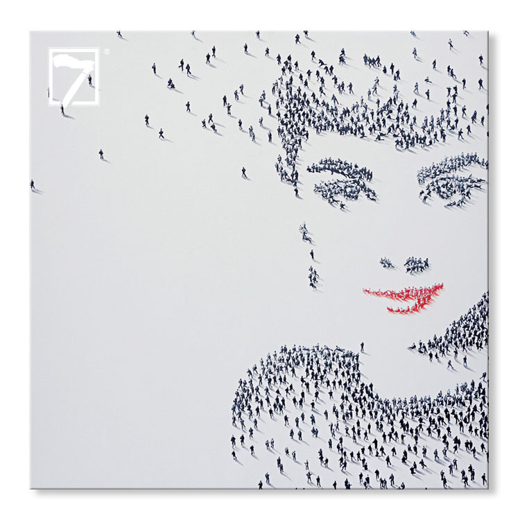 Innovative Hepburn Painting for Living Room