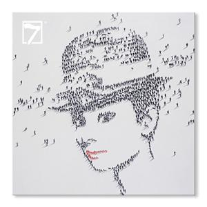 Moderne Kunst Hepburn Wall Decor