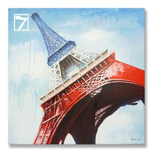 Decorative Painting Wholesale Eiffel Tower Framed