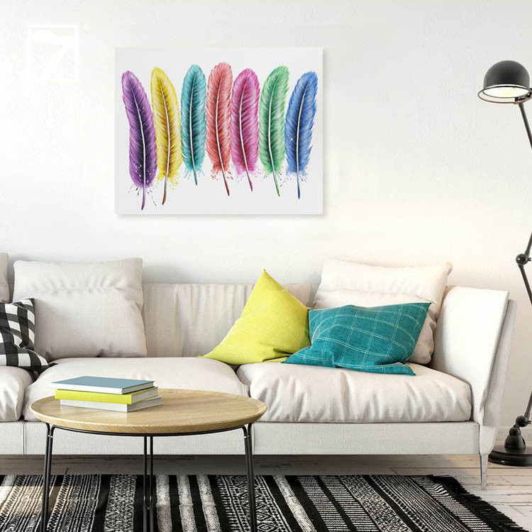 Affordable Art for Sale Colorful Feather Manufacturers, Affordable Art for Sale Colorful Feather Factory, Supply Affordable Art for Sale Colorful Feather