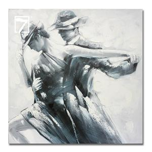 Modern Wall Art Romantic Tango Painting