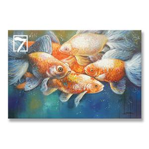 Decorative Picture KOI Painting