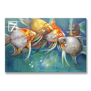 Tropical Fish painting for home