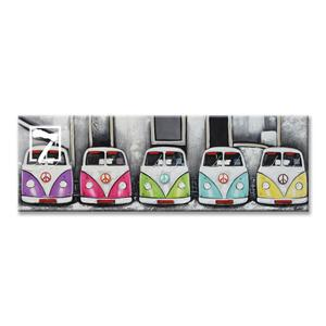 Kombi Van painting for kids' room