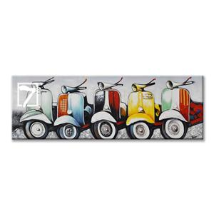 Vespa Collection Handpainted Canvas Artwork