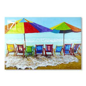Beach Holiday Seascape Paintings