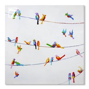Moderne Wall Decor Birds on Wire
