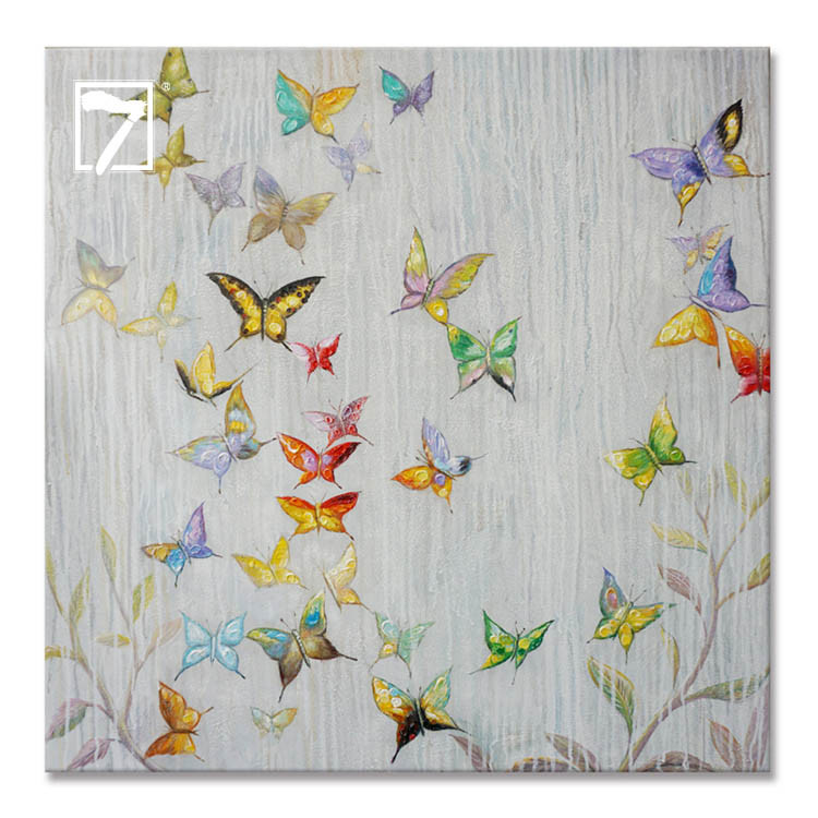 Commercial Paining Producent Flying Butterflyies
