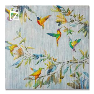 Oil Painting Manufacturers China Flying Birds