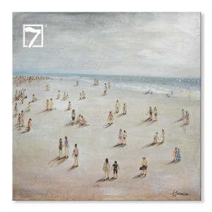 7WallArts 3D Beach Canvas Art