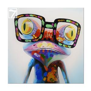 Wholesale Pintura a óleo handmade Frog