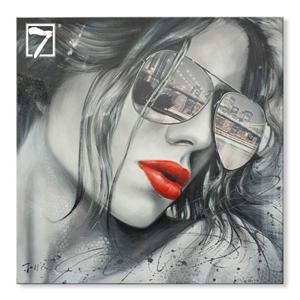 Figura Flaming Lip pintura decorativa atacado