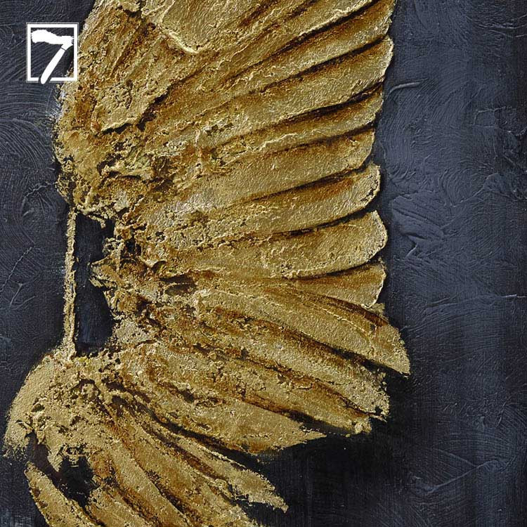 Animal Wing Painting with Gold Leaf Manufacturers, Animal Wing Painting with Gold Leaf Factory, Supply Animal Wing Painting with Gold Leaf