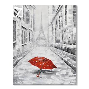 Handmade Oil Painting Street Scenery Canvas art