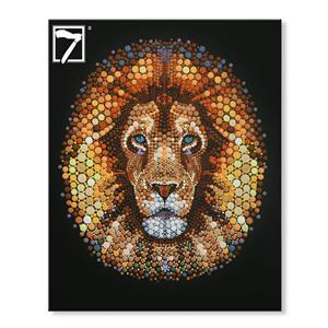 Handmade Oil Painting Lion wall decor ideas