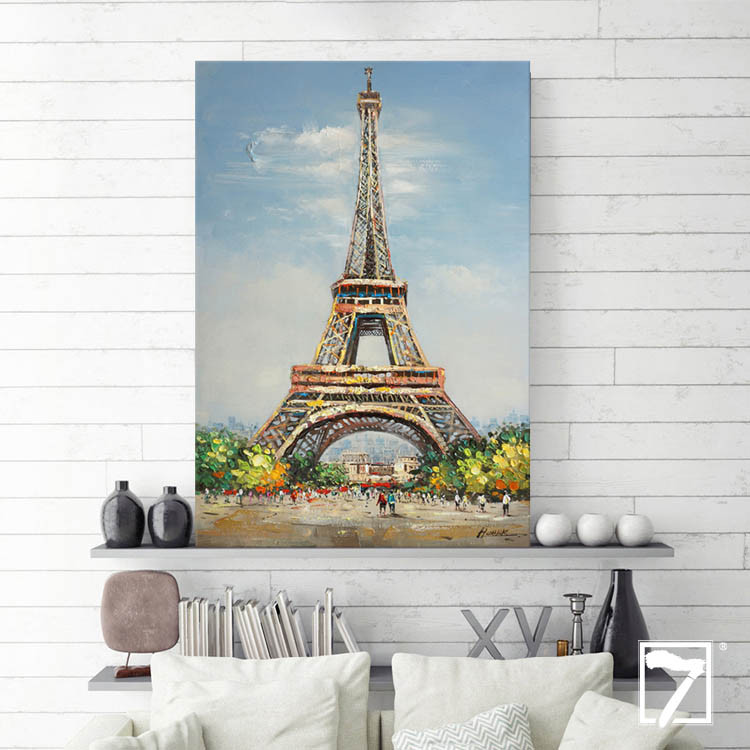 Landscape Oil Painting Eiffel Tower affordable art Manufacturers, Landscape Oil Painting Eiffel Tower affordable art Factory, Supply Landscape Oil Painting Eiffel Tower affordable art