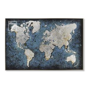 Vintage World Map Painting wholesale painting