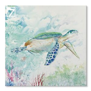 Sea Turtle Art til Kids Room