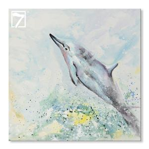 Dolphin Art til Kids Room