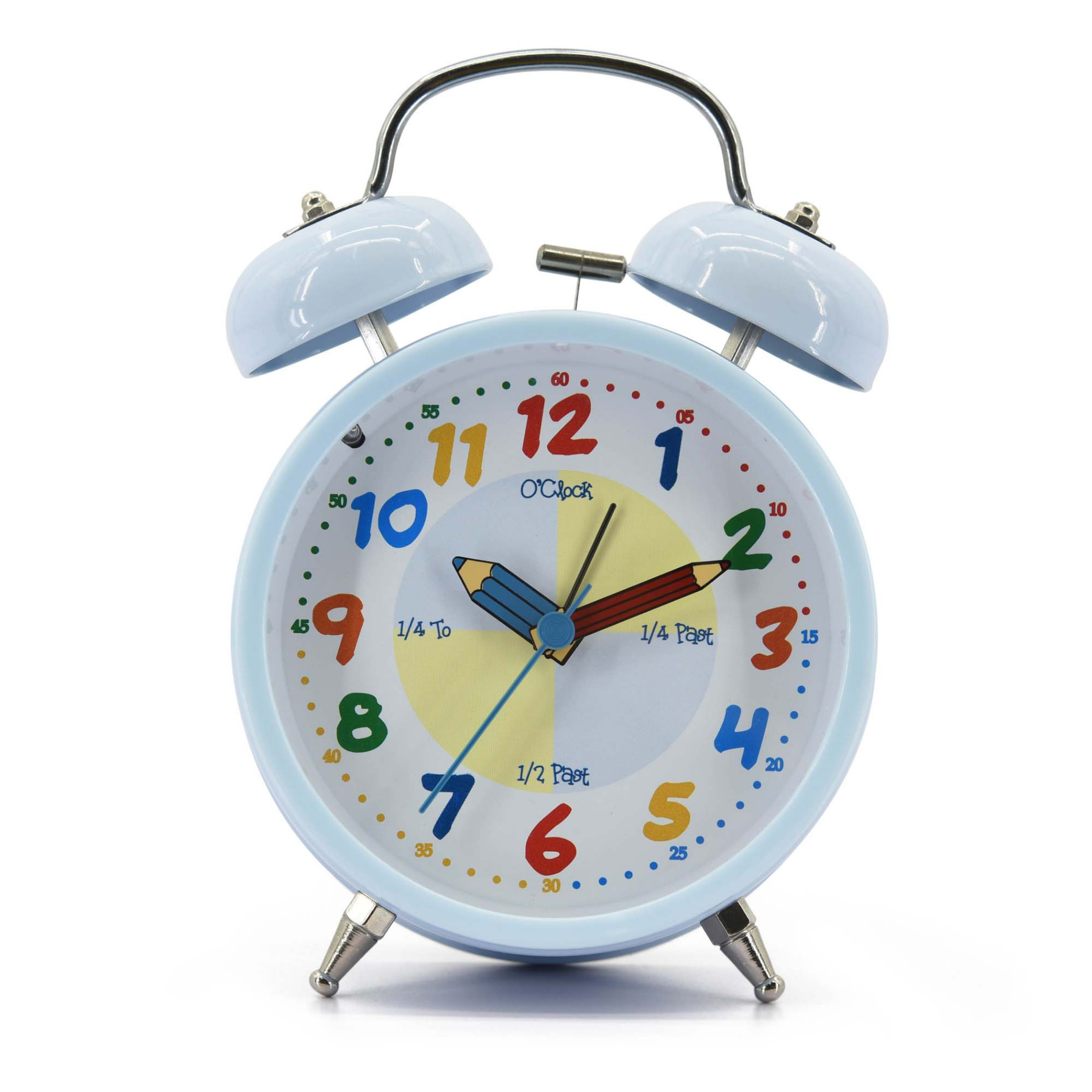 Kids Baby Blue Table Alarm Clock