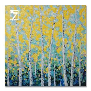 Landscape Tree Wall Art Acrylic Painting