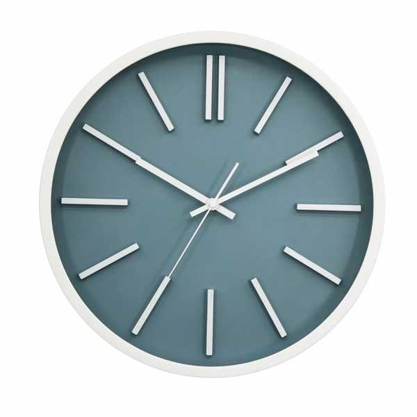 Relógio de parede de plástico estilo nórdico na moda
