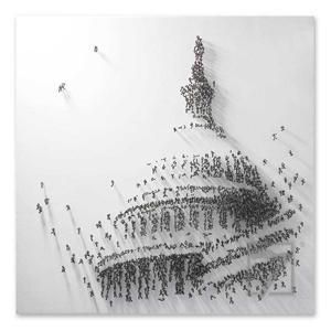 دبابيس وسائل الإعلام المختلطة الفنون Capitol الفن الحديث