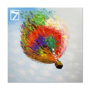 contemporary wall decor Hot Air Ballon Painting