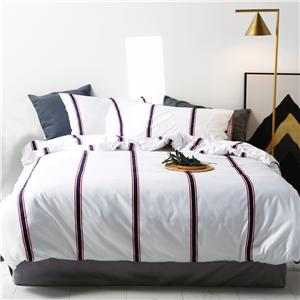 Cotton Stripe Bedding Set