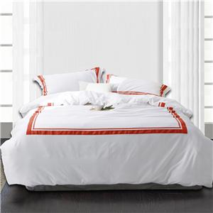 400tc Satin Stitch Bedding Set