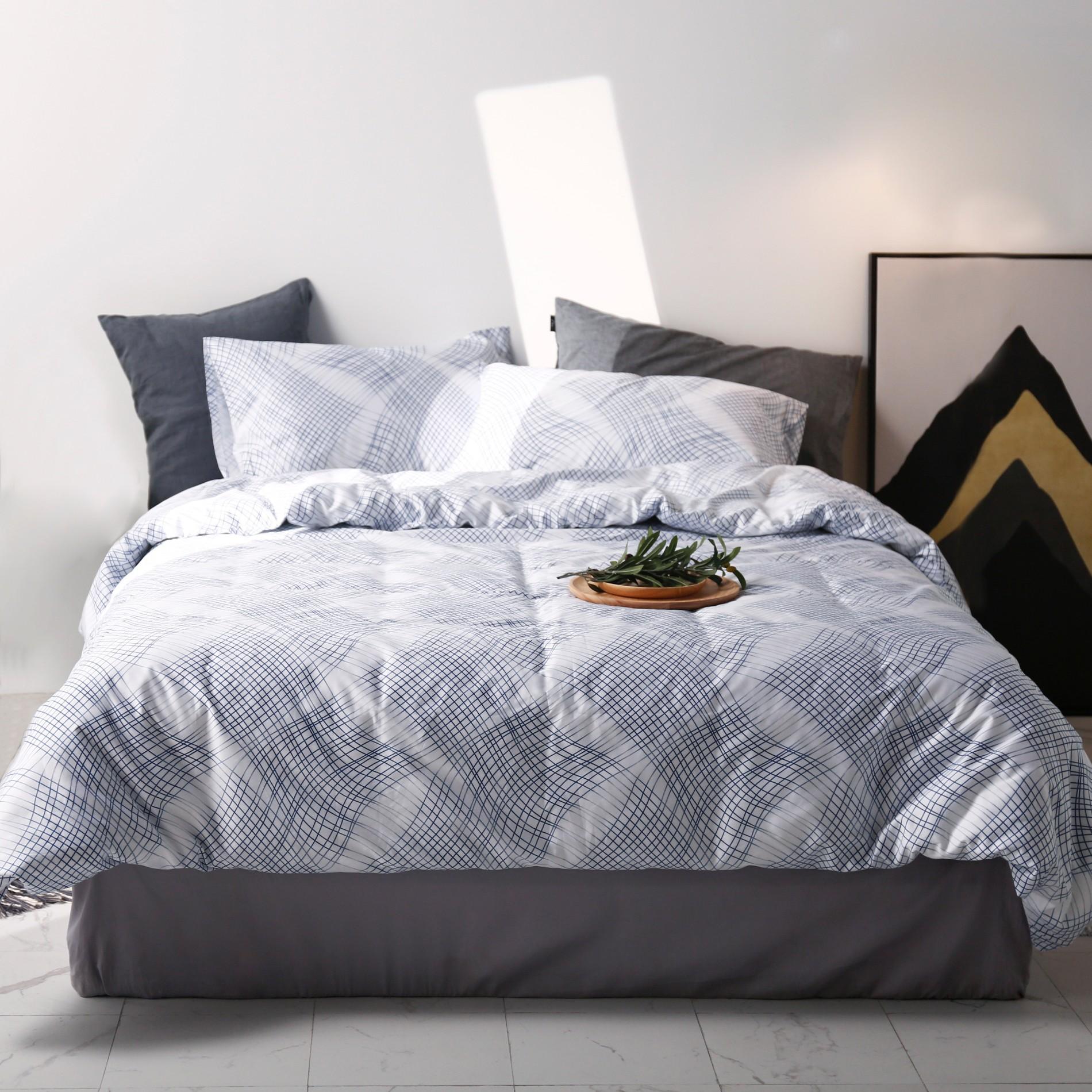 King Size Printed Bedding Set