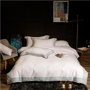 Cotton Sateen Stitch Duvet Cover