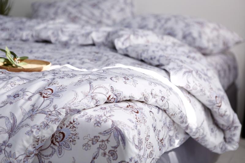 White Patterned Duvet Cover