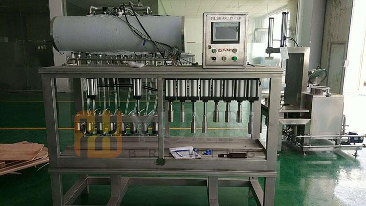 Custom beer bottle capping machine