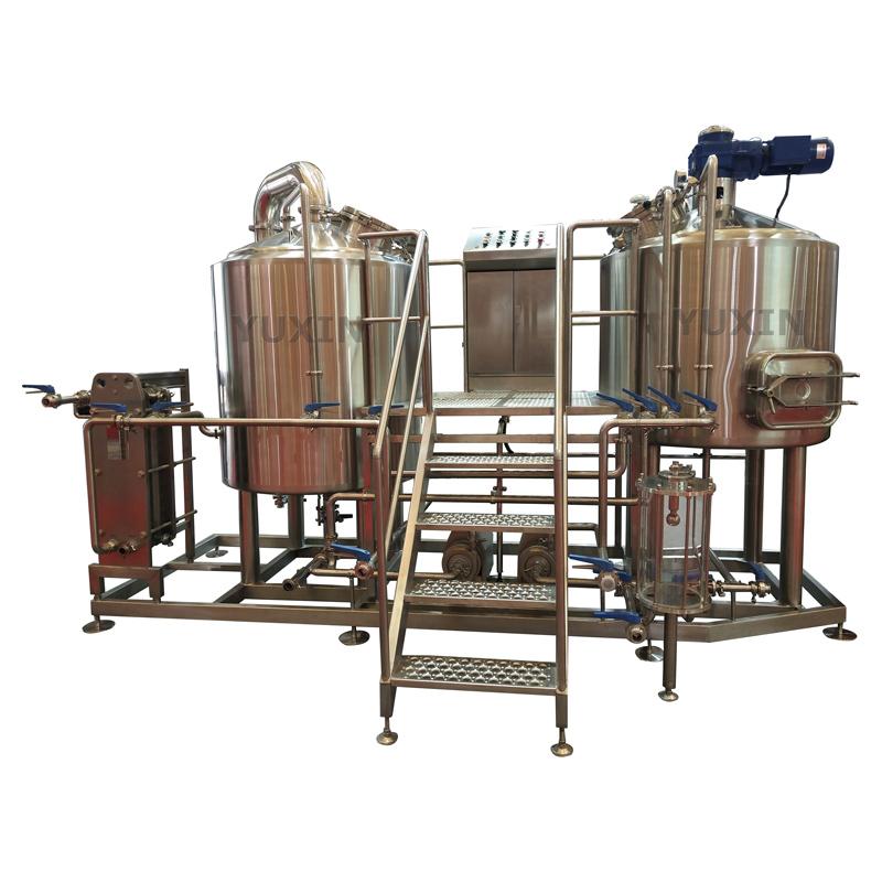 Custom 7BBL beer equipment