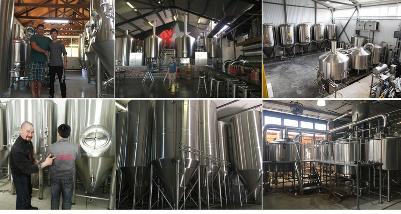 Brewery equipment manufacturer