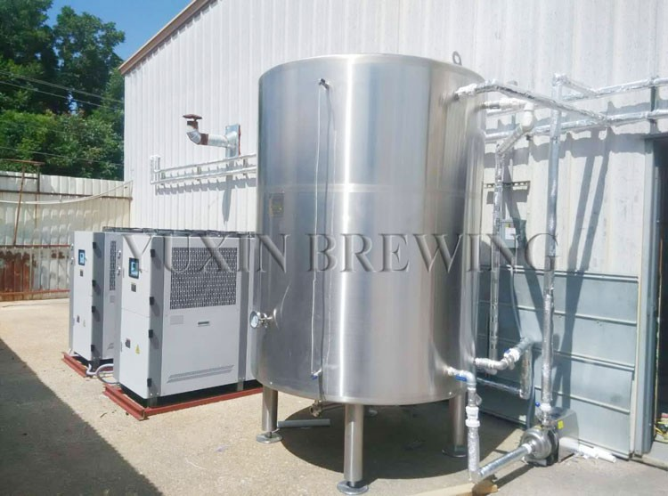 Beer cooling tank