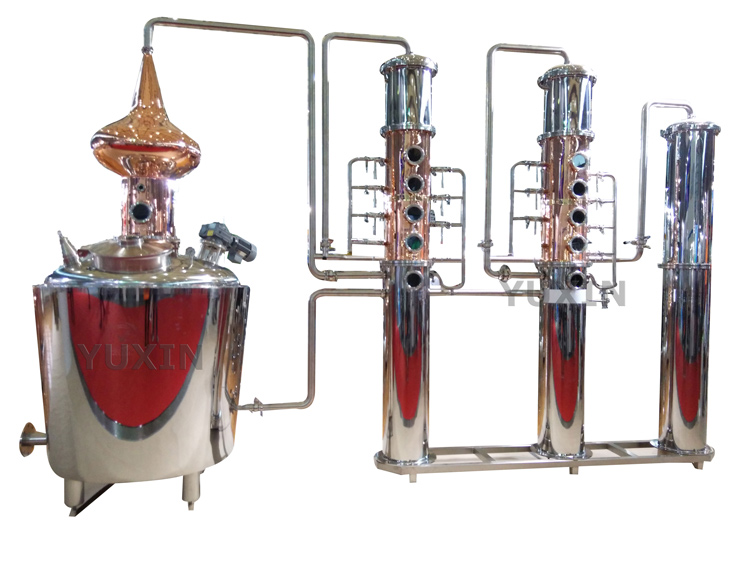 Whisky brewing machine