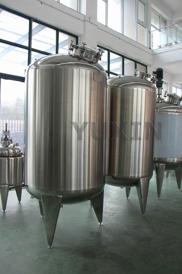 Stainless steel milk tank