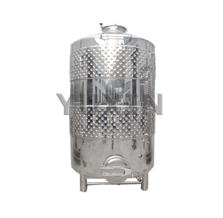 Stainless steel jacketed water tank
