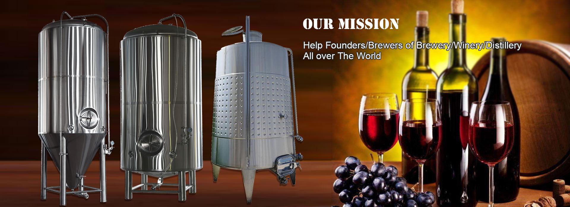 Equipamento de produção de vinho