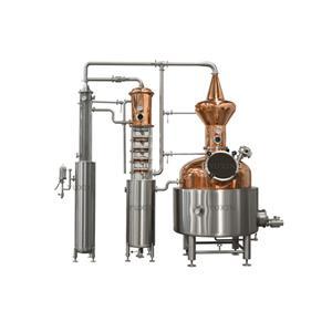 Coloana de distilare a alcoolului