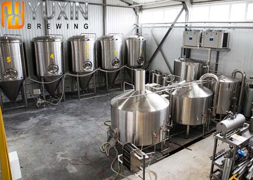 2000L Turnkey Beer Brewery Plant