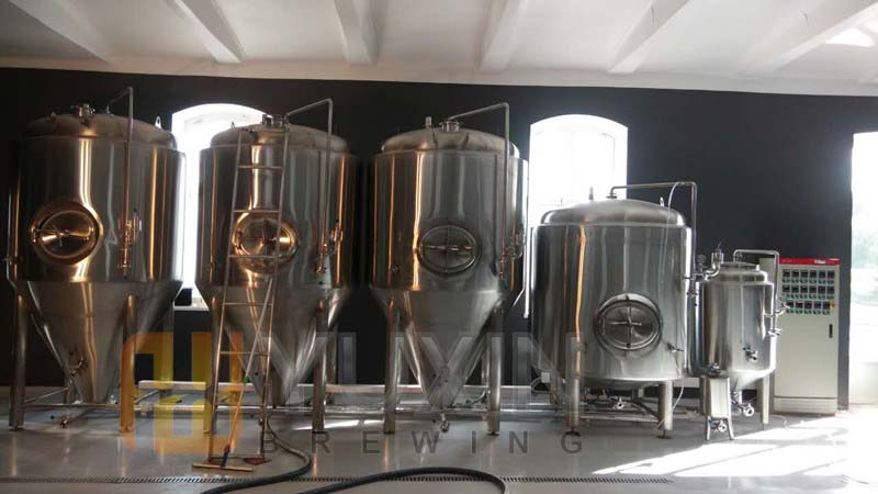 2000L Direct Fire Heated Mini Brewing System
