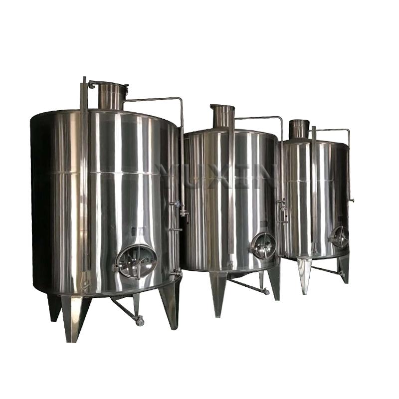 Tanque de armazenamento de cidra
