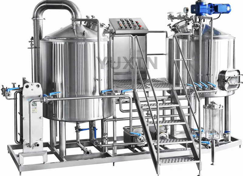 600L Beer Brewhouse Customized